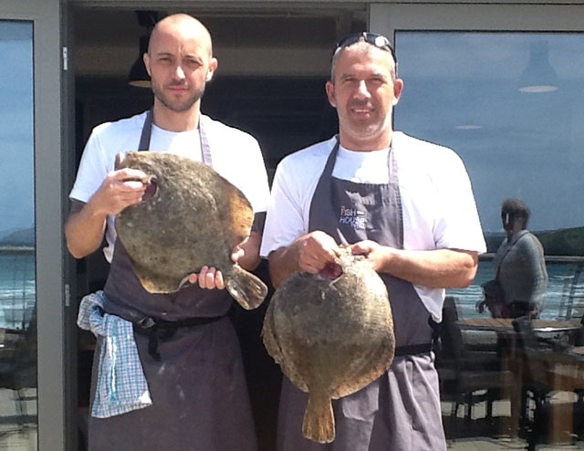 Turbot at The Fish House
