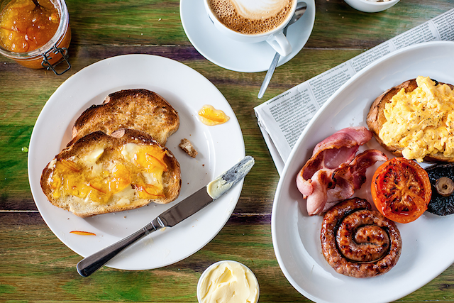 Beach Hut brunch