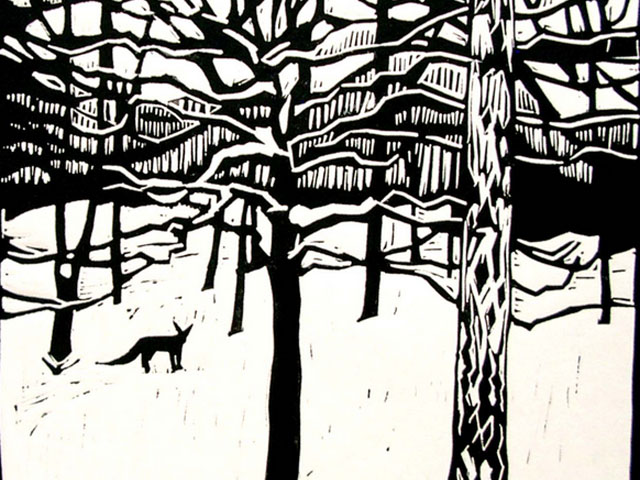 LINO PRINTING WITH LEE STEVENSON