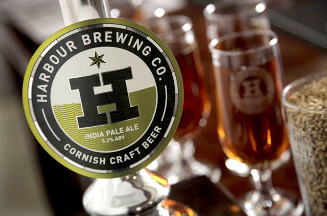 The Harbour Brewing Co launch on 20th January 2012.