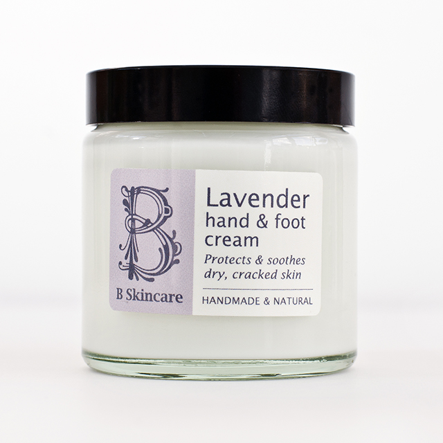 Lavender hand & Foot Cream square