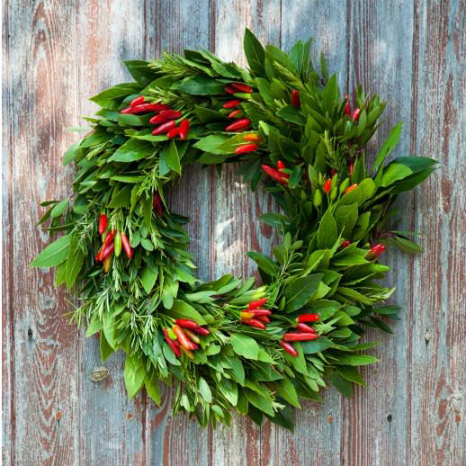 chilli-wreath