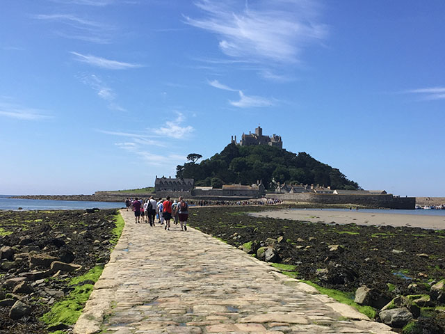 A TRIP TO ST MICHAEL'S MOUNT
